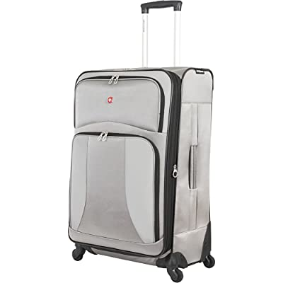 "SwissGear Pewter Spinner Luggage Collection 28"" Spinner"