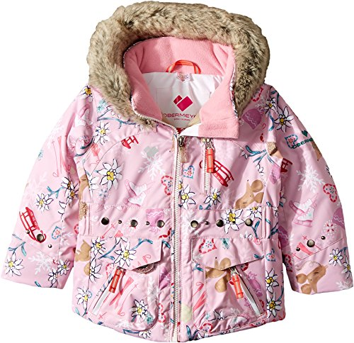 Obermeyer Kids Baby Girl's Taiya Jacket (Toddler/Little Kids/Big Kids) Snowday 5 by Obermeyer Kids