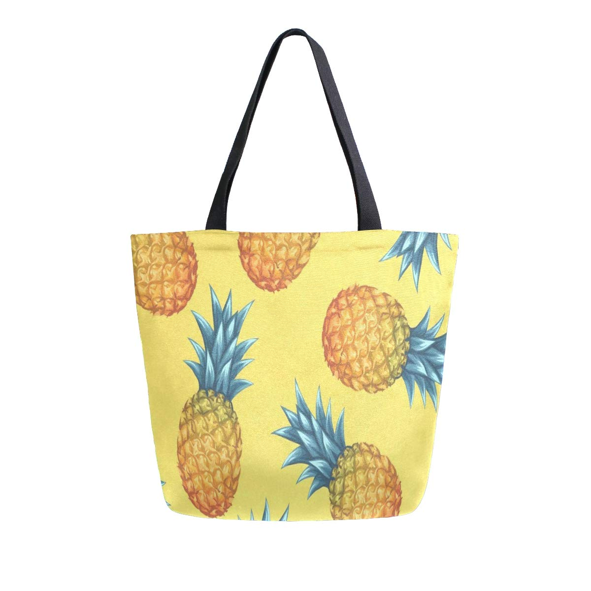 Canvas Tote Bag Pineapple 3...