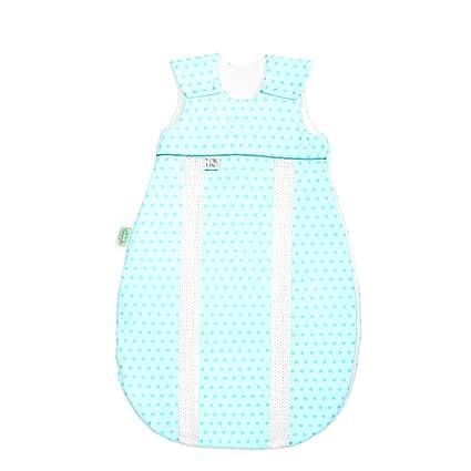 odenwälder Jersey de saco de dormir prima climática Springing Dots Frozen Menta, tamaño: 70