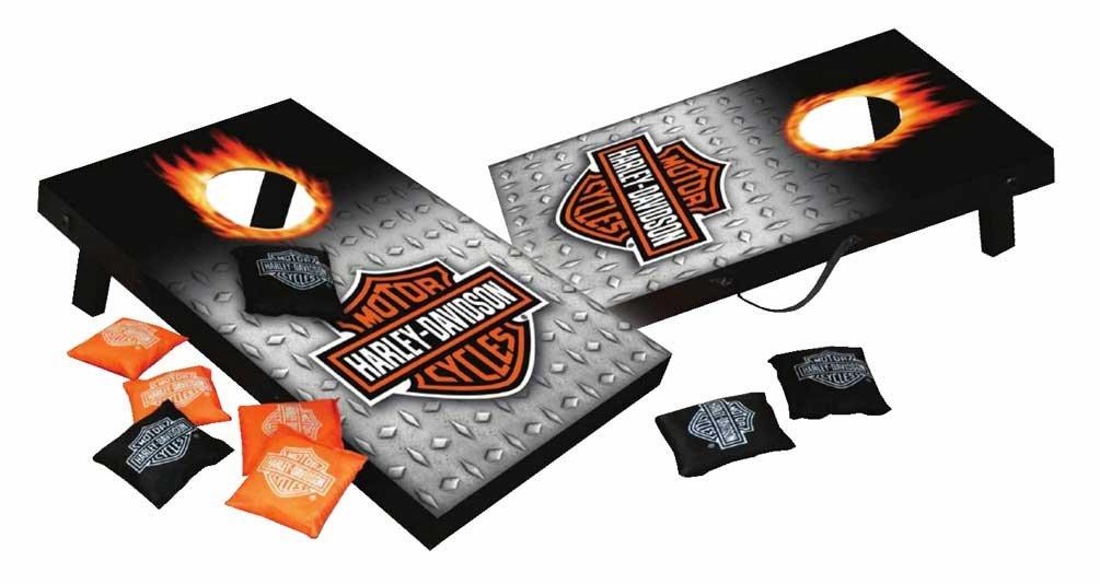 Harley-Davidson Mini Bean Bag For Indoor/Outdoor Use Harley-Davidson Motor Company 66248