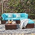OC Orange-Casual Outdoor Conversation Set Patio Sofa