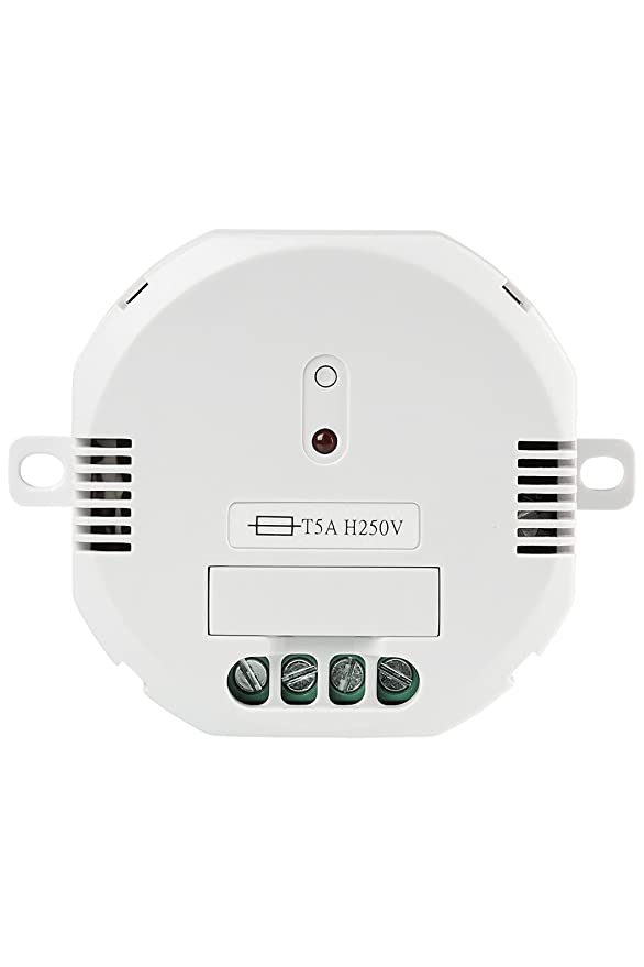 Trust Smart Home 71015 Trust ACM-1000-Interruptor Integrado inalámbrico, Color Blanco: Amazon.es: Bricolaje y herramientas