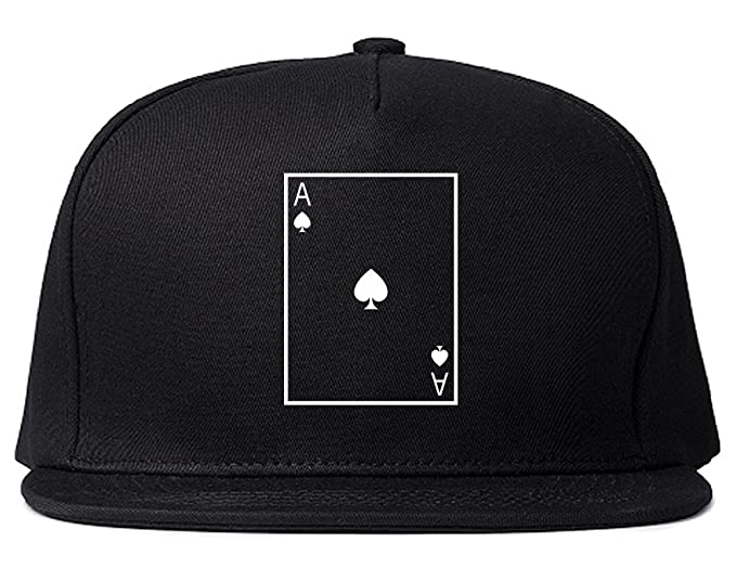 Ace Of Spades Snapback Hat Cap Black at Amazon Men s Clothing store  c3f7f92d6ed