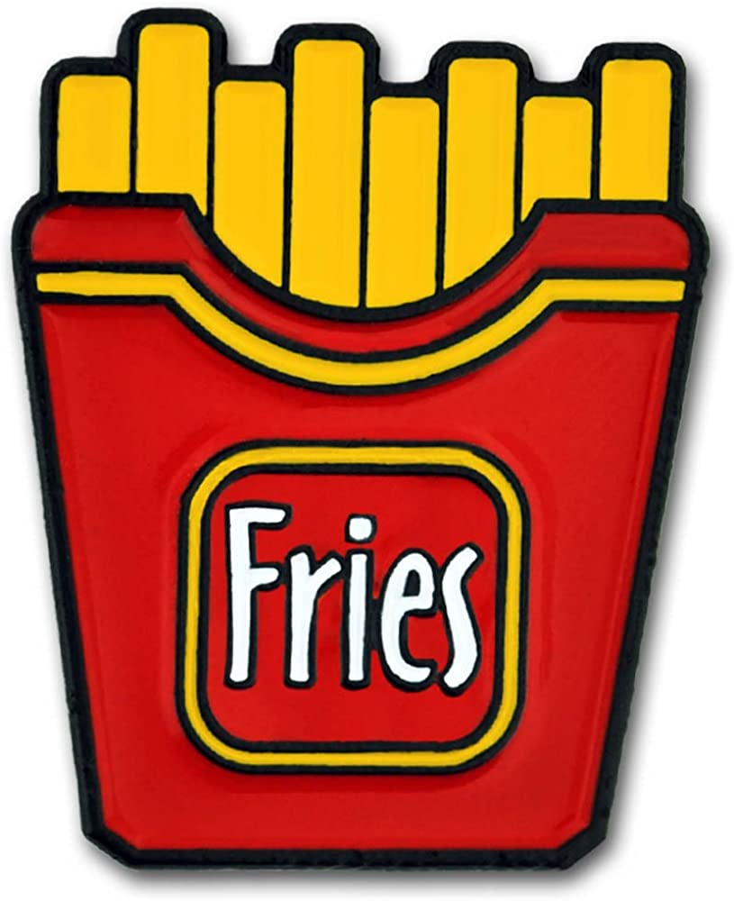 Top 10 Lapel Pins Food French Fries