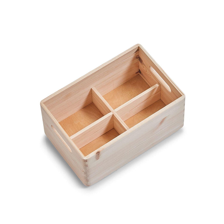 Colour pine 28 x 28 x 13 cm Zeller Multi-Purpose Box 30x20x15cm