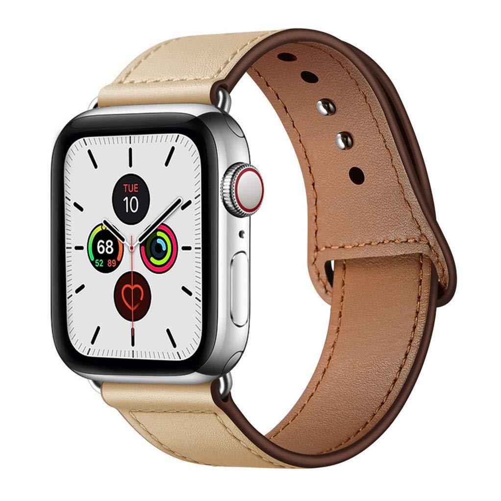 Malla Cuero para Apple Watch (38/40mm) YALOCEA [7QQ3MJ2D]