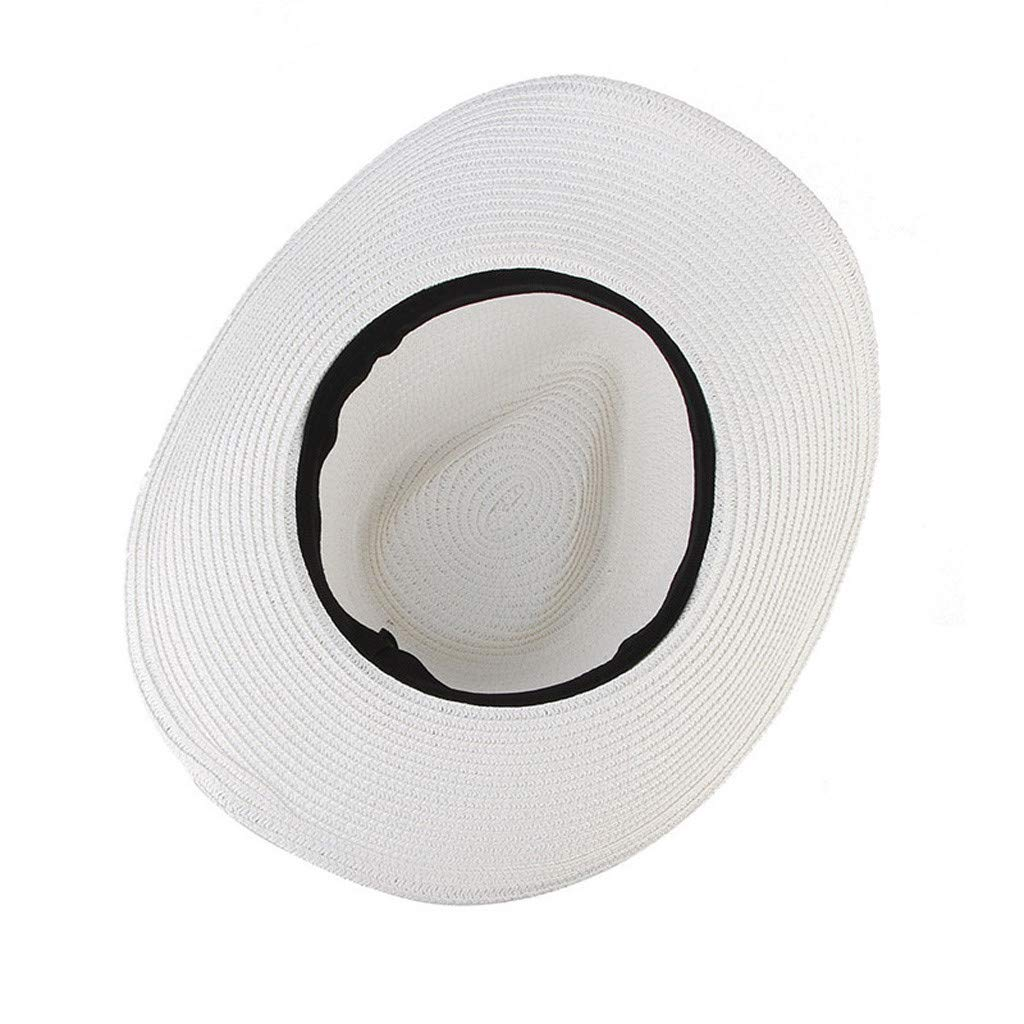 Candyly Cowboy Hats,Bowler Hats-Straw Cowboy HAT Outback Western Mens Womens Cowboy Old West Hat