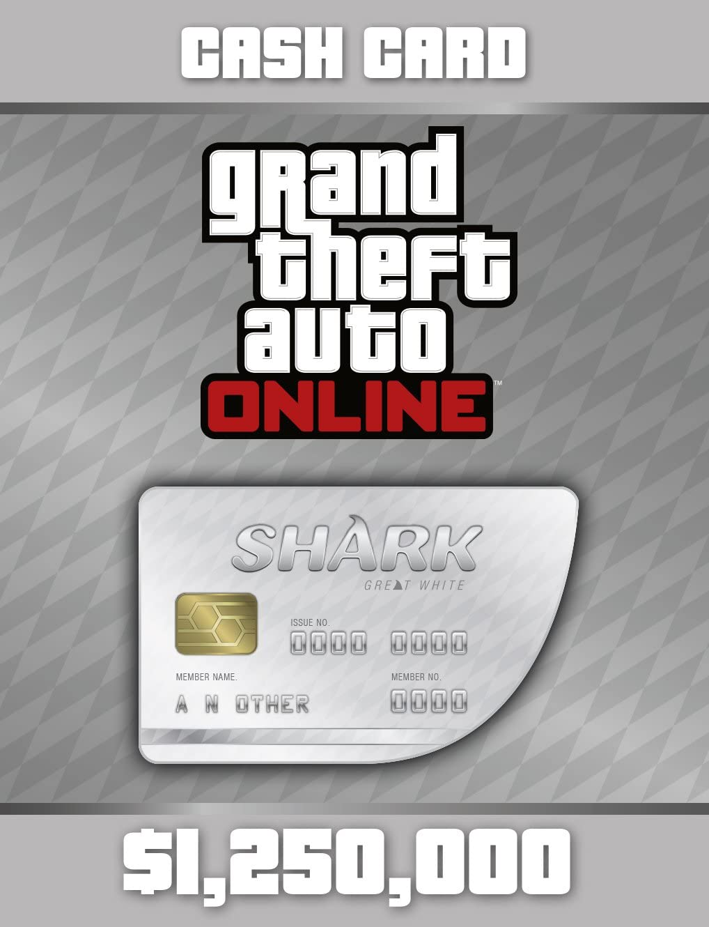 Amazon Com Grand Theft Auto V Great White Shark Cash Card Ps Digital Code Video Games