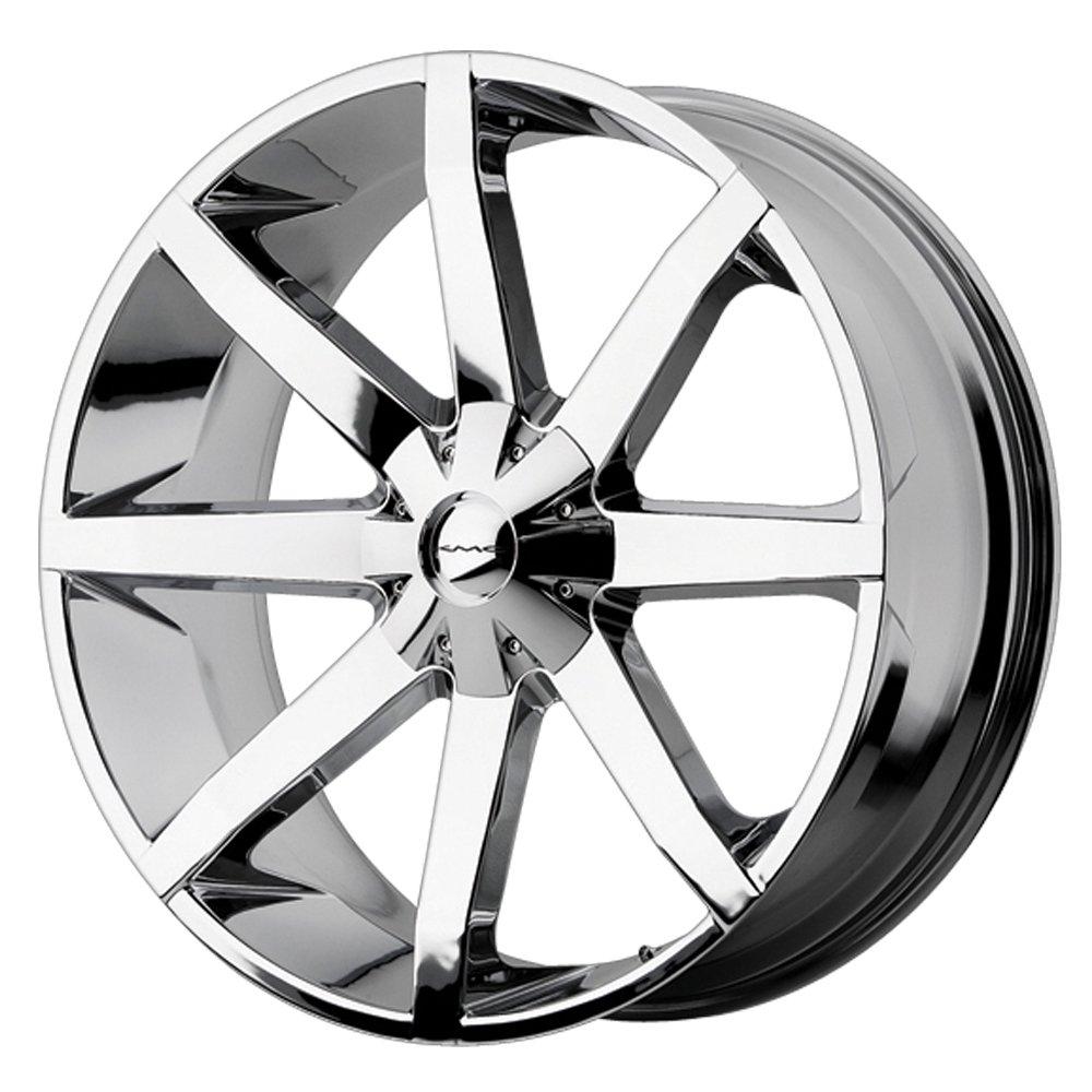 KMC Wheels Slide KM651 Chrome Wheel (22x9.5''/5x115mm)
