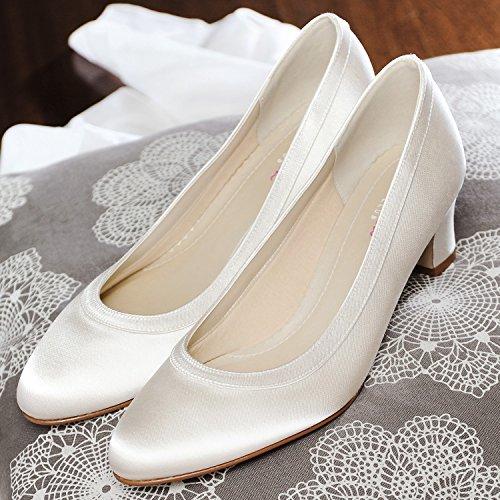 Peu Creme Elsa Shoes Coloured Ivory Femme xZwCn6Yaq