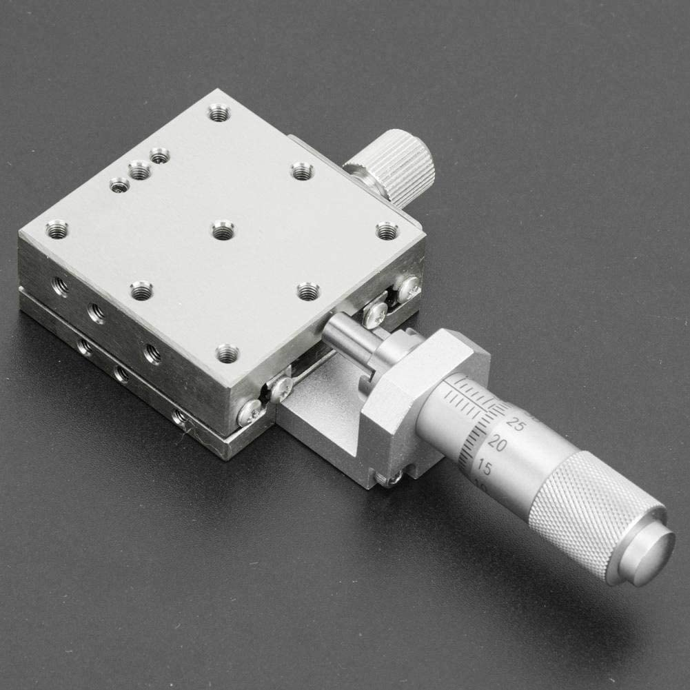 Maxmartt Manual X Linear Platform Ball-Type Stainless Steel 40x40mm eplace for Misumi XSG40-A