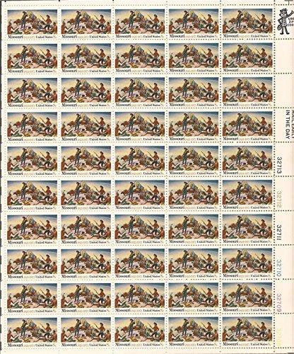 US Stamp - 1971 Missouri Statehood - 50 Stamp Sheet - Scott #1426
