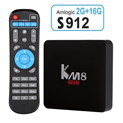 Edal KM8 PRO Amlogic S912 TV Box Octa Core Android 6 0 2G