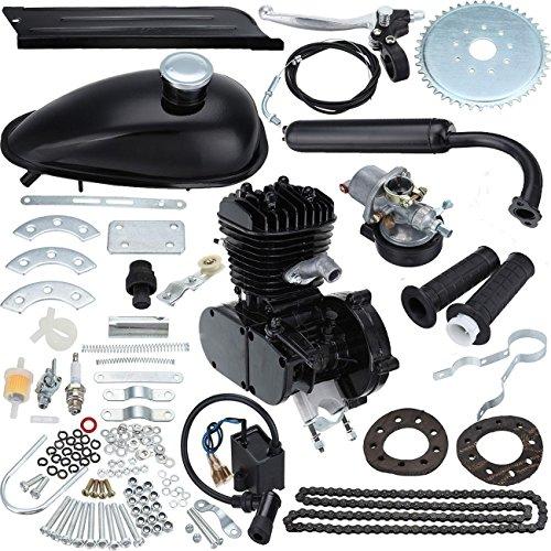 "PanelTech 80CC 26"" to 28"" Complete Motor Engine Kits 2-Stroke Cycle for Motorized Bicycle Bike (Bike Motorized)"