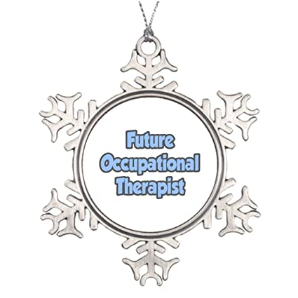 Moc Moc Tree Branch Decoration Future Occupational Therapist Holiday  Snowflake Ornaments Metal Snowflake Ornaments - Amazon.com: Moc Moc Tree Branch Decoration Future Occupational
