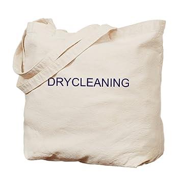 Amazon.com: CafePress - Drycleaning Bag - Natural Canvas Tote Bag ...