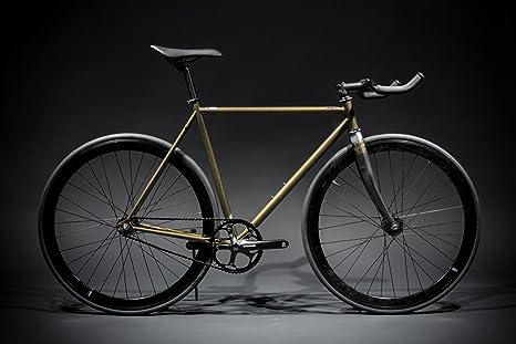 State Bicycle Contender Premium - Bicicleta de Carretera, Color Dorado, Talla 52 cm: Amazon.es: Deportes y aire libre