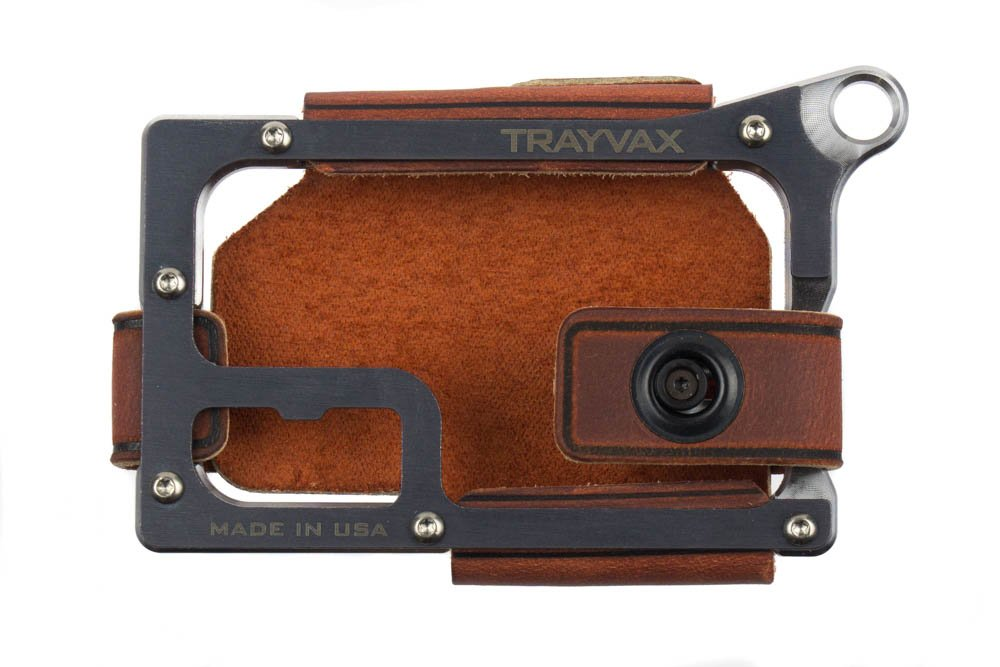 Trayvax Contour Wallet - Raw (Canyon Red)