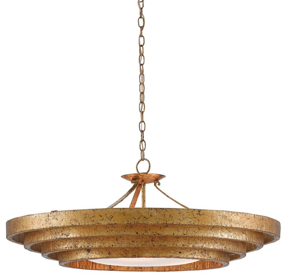 Currey And Company 9000 0187 Belle Three Light Chandelier