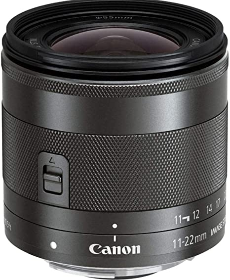 Canon EF-M 11-22mm f/4-5.6 IS STM: Amazon.es: Electrónica
