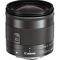 Canon EF-M 11-22mm f/4-5.6 IS STMLens,Siilver(EFM11-22ISST)