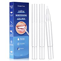 Zoomarlous Teeth Whitening Pen 3 Pack - 30+ Uses Whitening Treatments, 35% Carbamide Peroxide, No Sensitivity, Remove Coffee and Tea Stains Professional Dental Whitener, Beautiful White Smile, 3x2 ml