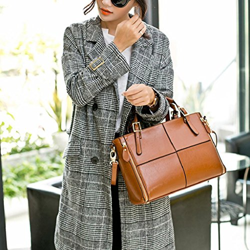 Handbags Totes 2018 Woman Summer Shoulder Cheap Shoulder Quicklyly Hand Bag Brown Twq5PRcv