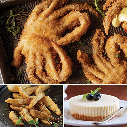 Omaha Steaks Soft-Shell Crab Feast (6-Piece with Breaded Soft-Shell Crabs, Steakhouse Fries, and Individual New York Cheesecakes)