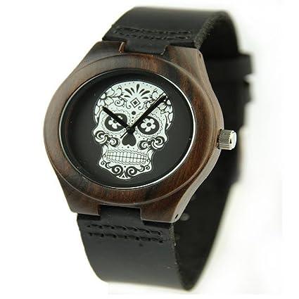 Xhyqs Relojes Clásicos Relojes De Cuero De Primera Calidad Relojes Casuales Relojes De Moda De Fantasmas