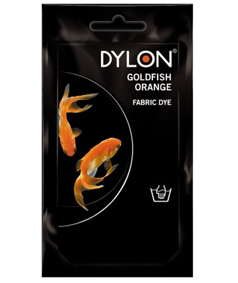 Dylon Hand Dye Sachet - Goldfish Orange (50g)