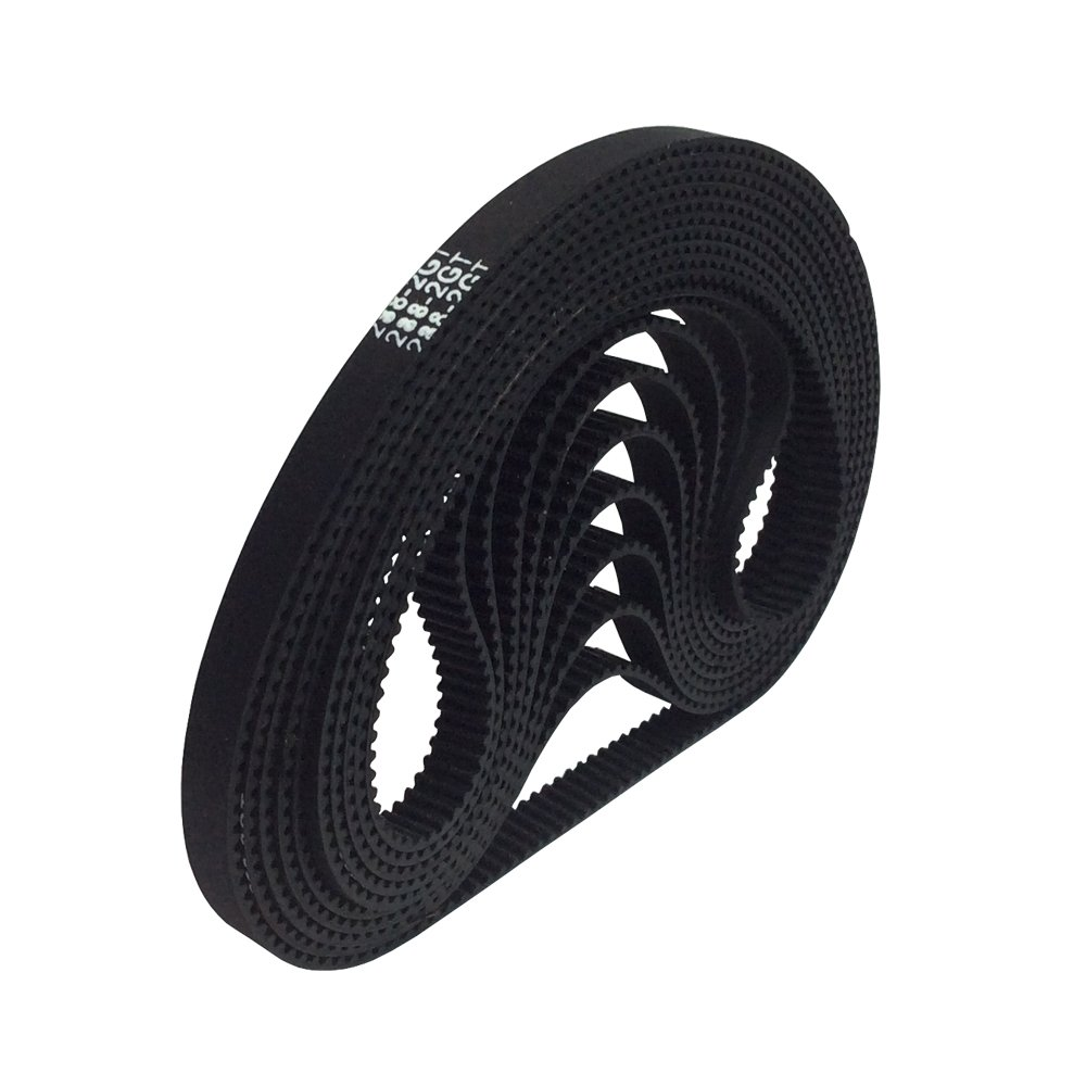 BEMONOC 3D Printer Parts 288-2GT-6 Timing Belt in Closed Loop Color Black GT2 L=288mm W=6mm 144 Teeth Pack of 10pcs by 2GT Timing Belt Closed Loop (Image #2)
