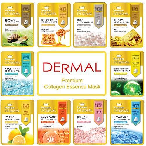 Dermal Korea Premium Collagen Essence Full Face Facial Mask