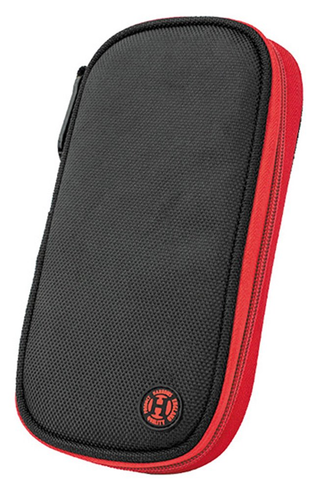 HARROWS Z400 RED BLACK DARTS CASE by PerfectDarts