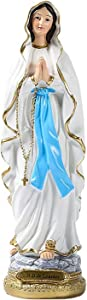 Tlymopukt Collectible Statue Virgin Mary Statue,Resin Outdoor Statues for Your Garden/Lawn/Patio Natural Appearance Virgin Mary Statue Garden Art Sculpture Blessed Mother Statue Yard Lawn Decoration