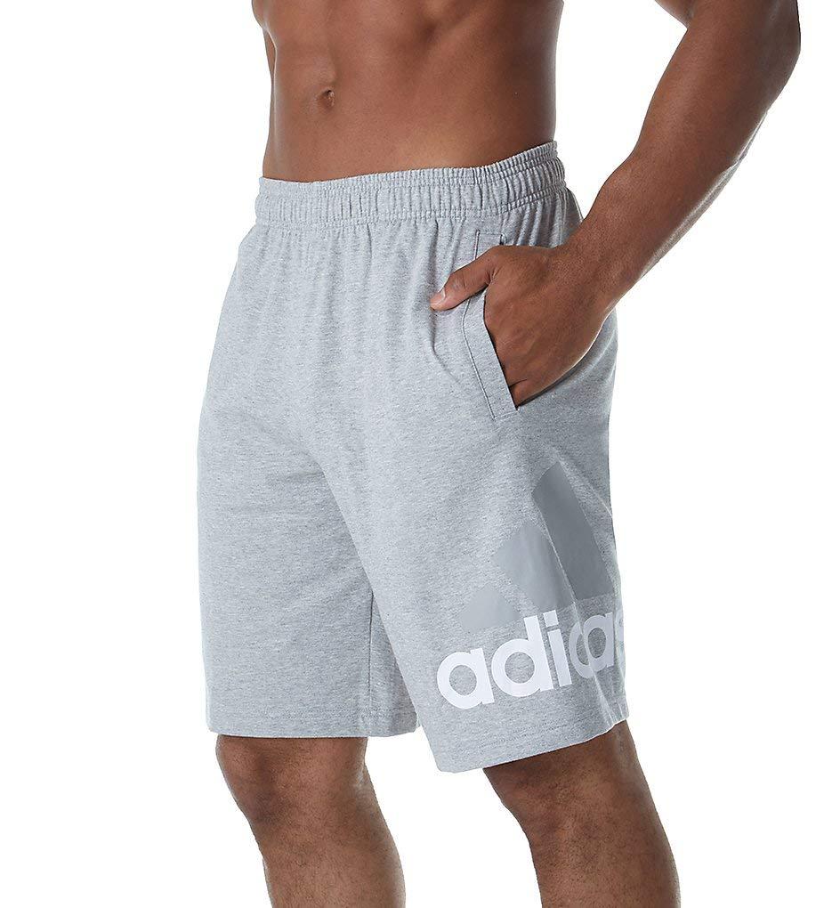 adidas Men's Athletics Jersey Shorts, Medium Grey