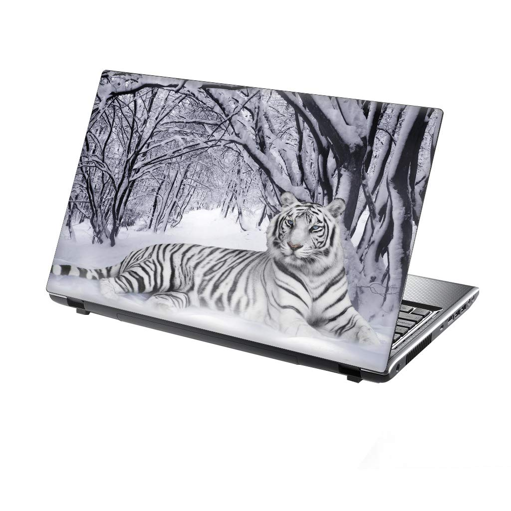 TaylorHe 13-14 inch Laptop Skin Vinyl Decal with Colorful Patterns and Leather Effect Laminate MADE IN England Mountains