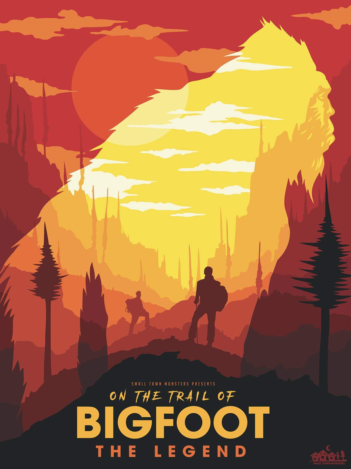 Amazon.com: On the Trail of Bigfoot: The Legend: Loren Coleman ...