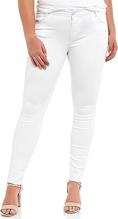 Elara Jeans Elasticos Para Mujer Tallas Grandes Chunkyrayan Amazon Es Ropa Y Accesorios