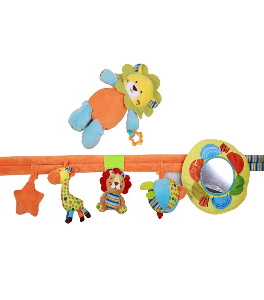 Colorfulworld Baby Spielmatte Erlebnisdecke mit mit mit Superweiche Gewebe Babybett mit Spielzeug Spielmatte für Baby (Rainforest) baf374