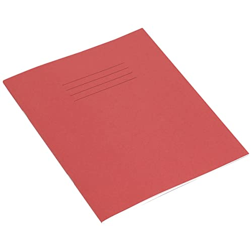 RHINO Red 200x165 48 Page Exercise Book - Wide Fein (Pack of 10)