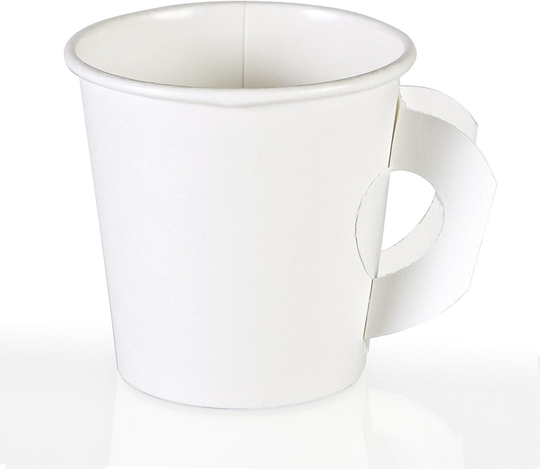 Disposable Paper Coffee Cups Espresso Shot Cups (50, 4 oz.)