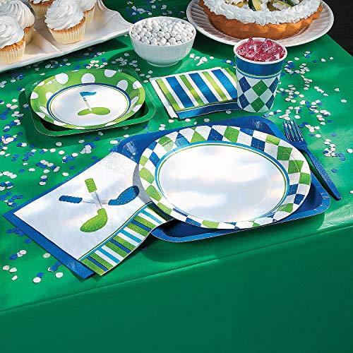 Fun Express - Golf PaR-Tee Beverage Napkins for Birthday - Party Supplies - Print Tableware - Print Napkins - Birthday - 16 Pieces]()
