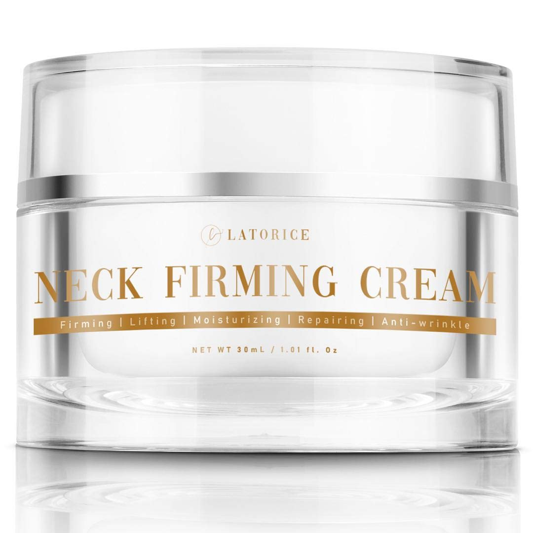 Neck Firming Cream, Wrinkle Cream, Moisturizer for Neck and Chest, Formula For Tightening, Lifting and Anti-wrinkle Neck Cream, Double Chin Reducer, Repair Crepe Skin