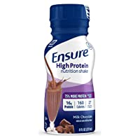 Ensure High Protein Nutritional Shake with 16g of High-Quality Protein, Ready-to-Drink...