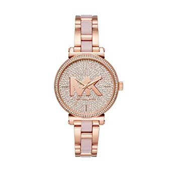 Amazon.com: Michael Kors - Reloj de cuarzo para mujer con ...