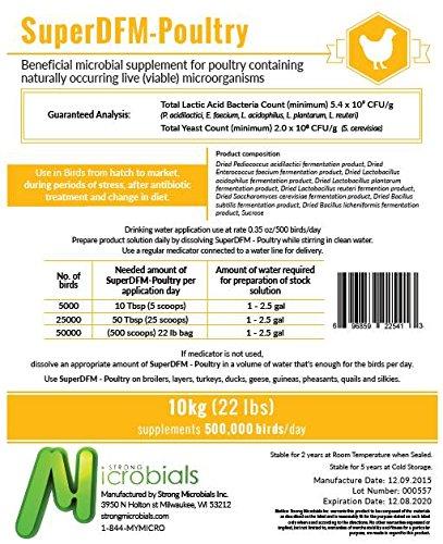 SuperDFM - Poultry 22 lbs. (10kg) by SuperDFM - Poultry 22 lbs (10kg)