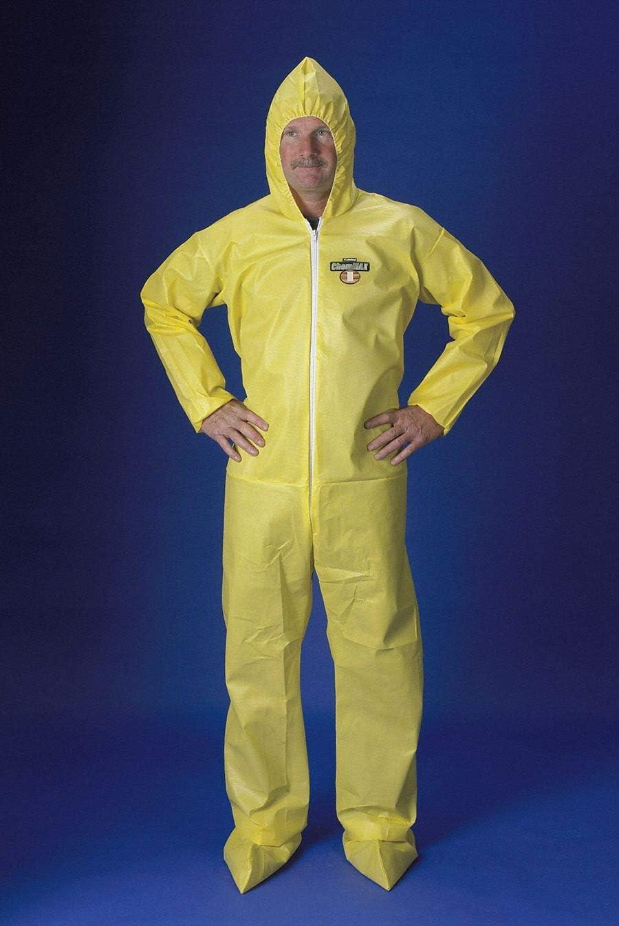 25 pcs of disposable ChemMax overalls XXXXL