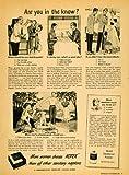 1949 Ad Kotex Feminine Hygiene Sanitary Napkins Quest Powder Deodorant Unscented - Original Print Ad