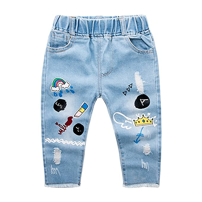 Yujeet Bebé Niña Moda Encantador Pantalones Largos De ...